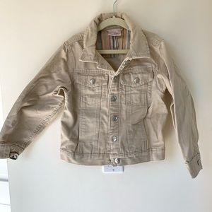 Hannah Andersson sz 120/girls 6-7 denim jacket